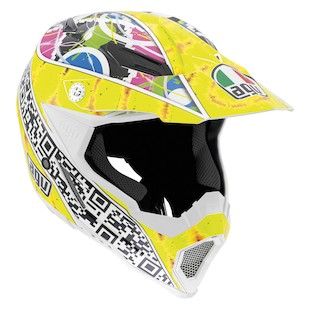 AGV AX-8 EVO Q Code Helmet (Size MD Only)