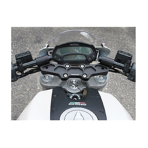 Woodcraft Clip On Risers W Adapter Plate Ducati Monster