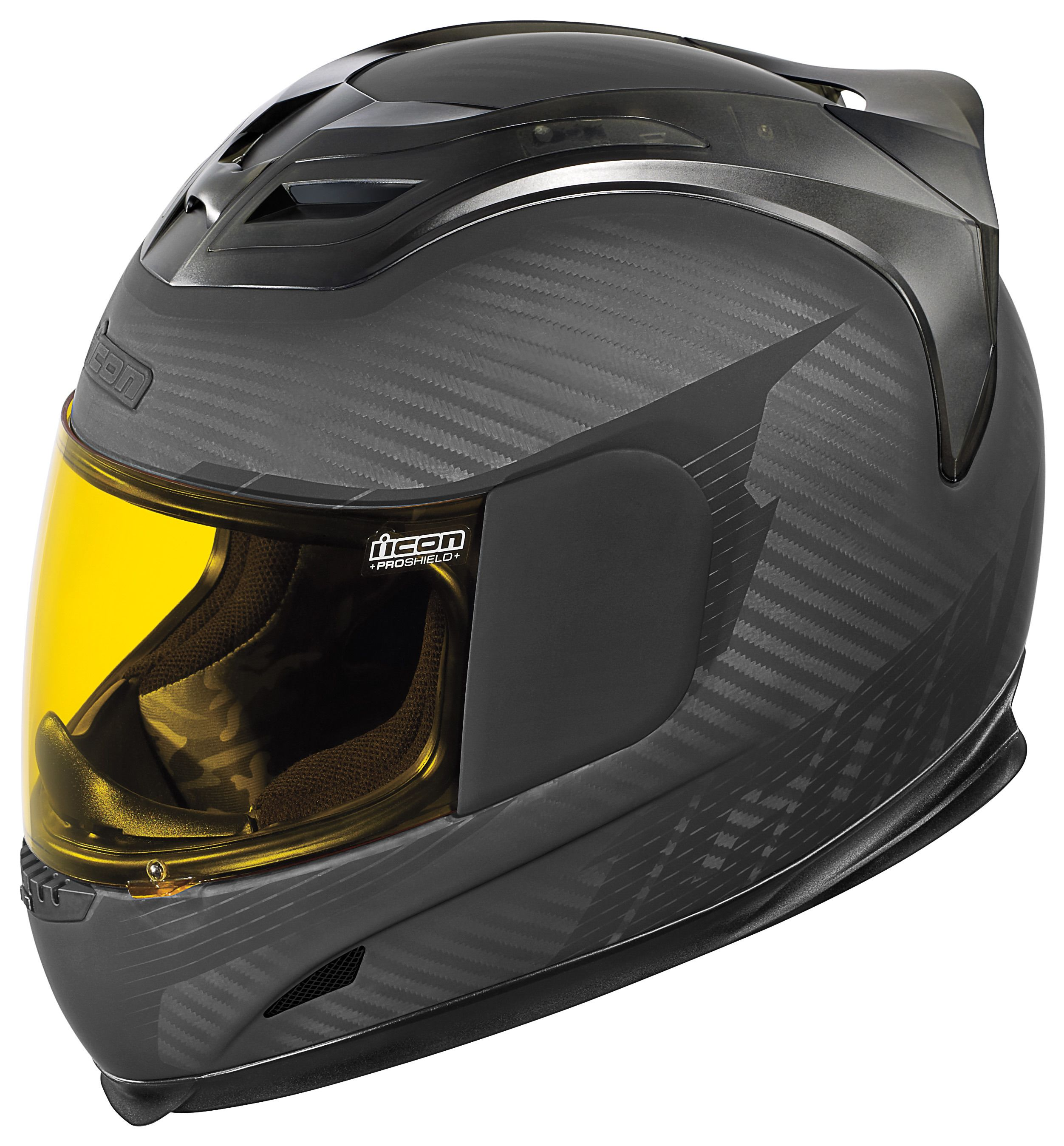 icon airframe ghost carbon helmet rubatone black grey. Black Bedroom Furniture Sets. Home Design Ideas