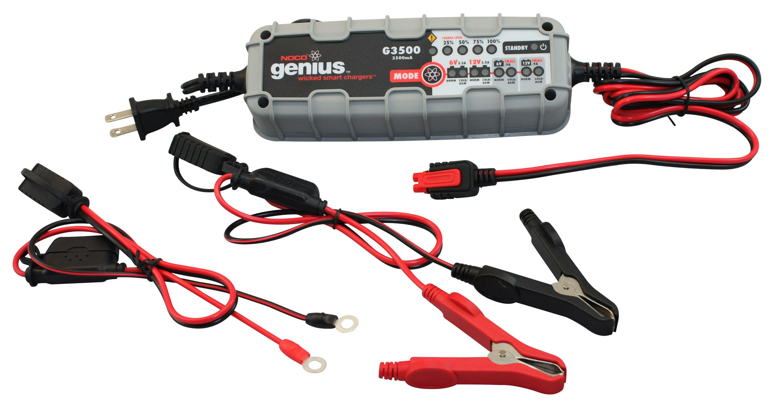 noco g3500 battery charger - revzilla