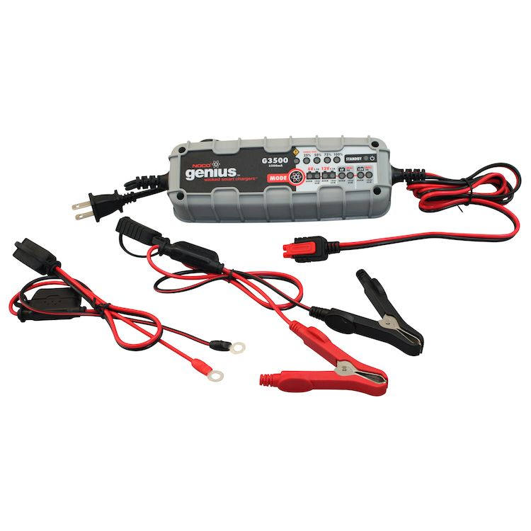 NOCO G3500 Battery Charger - RevZilla on