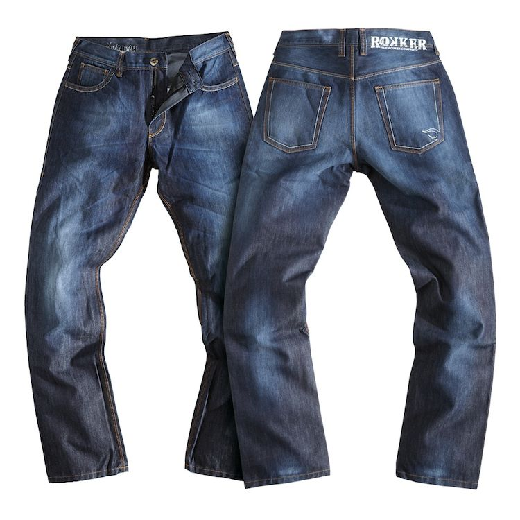 Rokker revolution waterproof jeans revzilla for 40x36 garage