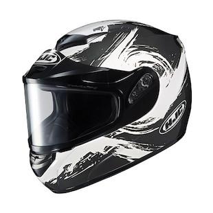 HJC CS-R2 Contrast Snow Helmet - Dual Lens