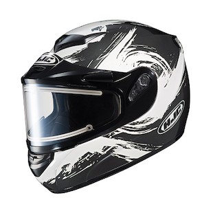 HJC CS-R2 Contrast Snow Helmet - Electric Shield