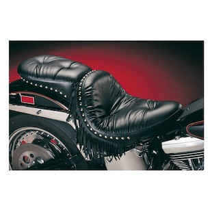 Le Pera Monterey Regal Plush Pillion Seat For Harley Softail 1984-1999