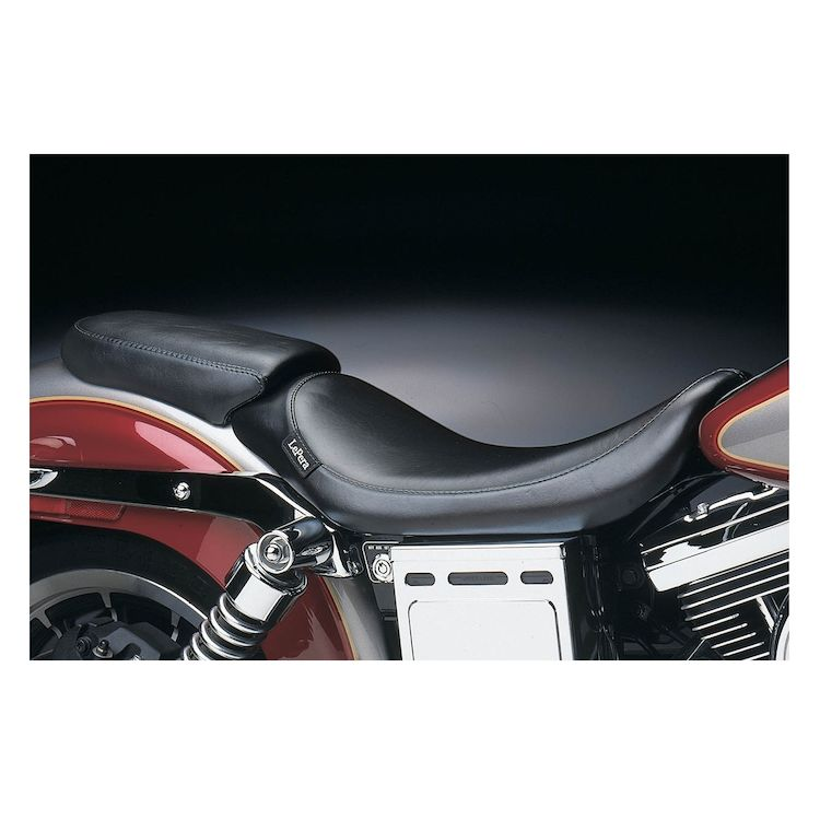 Le Pera Silhouette Passenger Seat For Harley Dyna 1996-2003