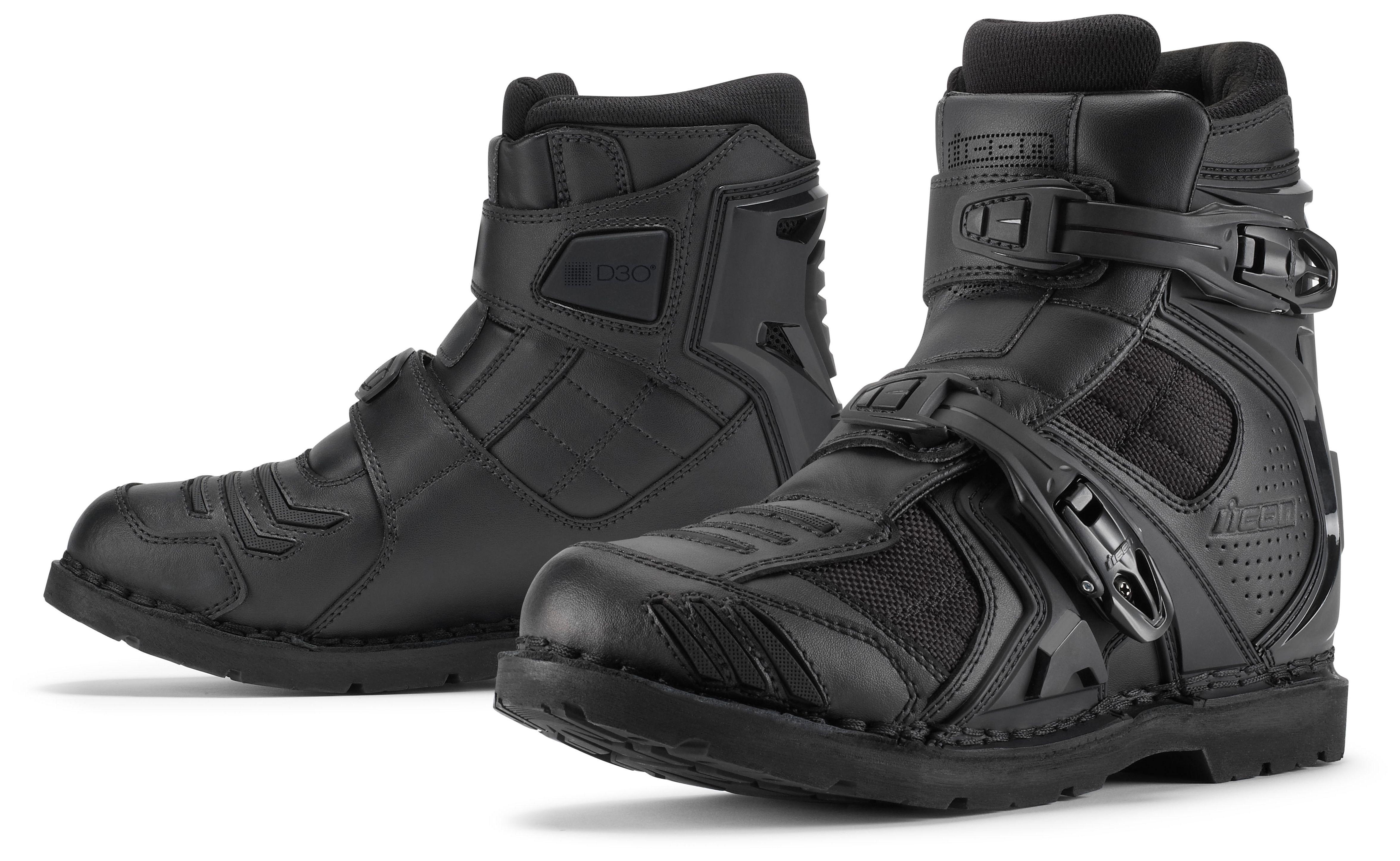 Icon Field Armor 2 Boots - RevZilla