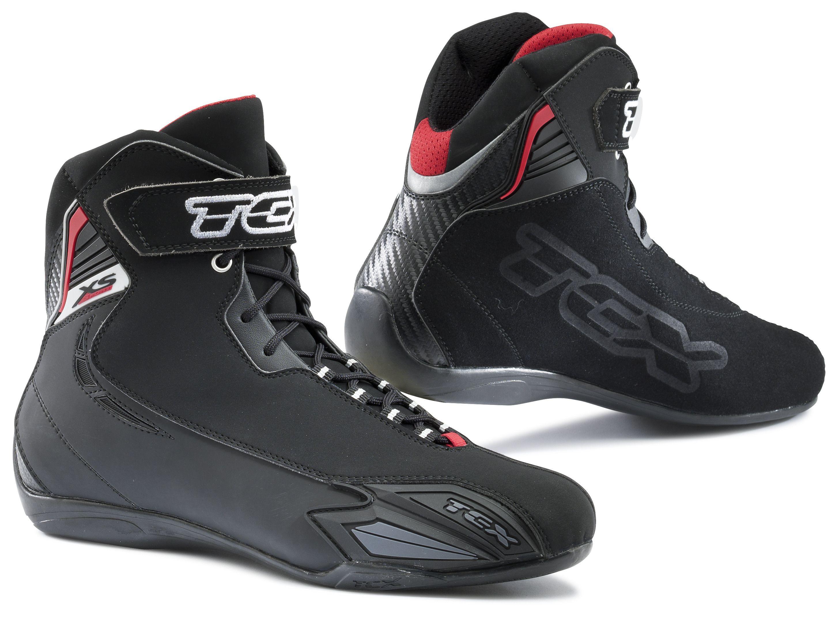 Black, EUR 36 TCX Mens Motorcycle Boots