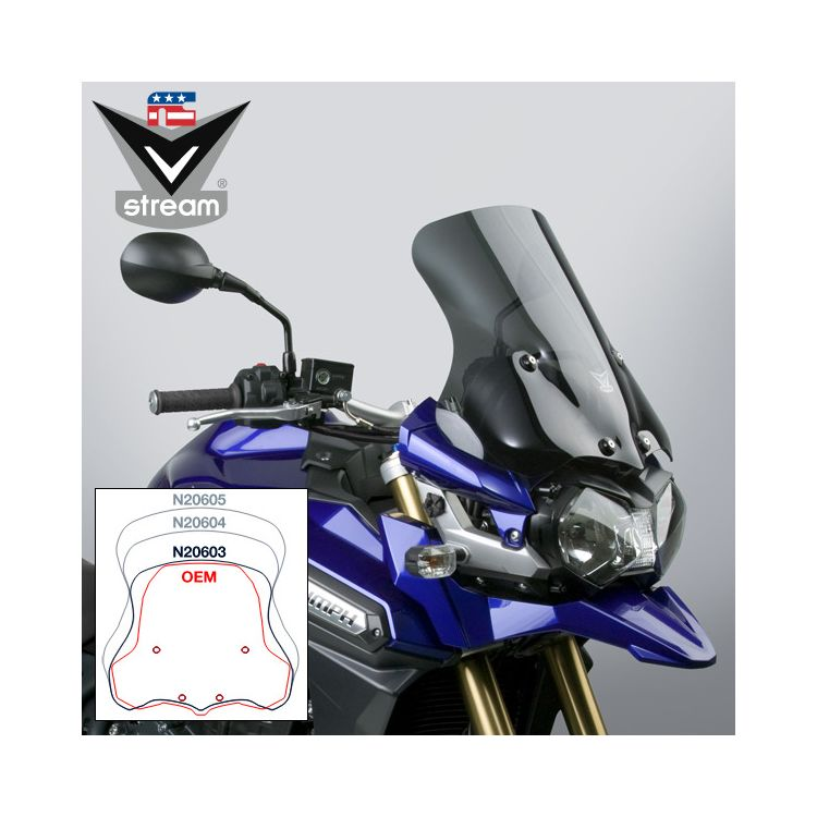 National Cycle VStream Sport Windscreen Triumph Tiger Explorer 2012-2015