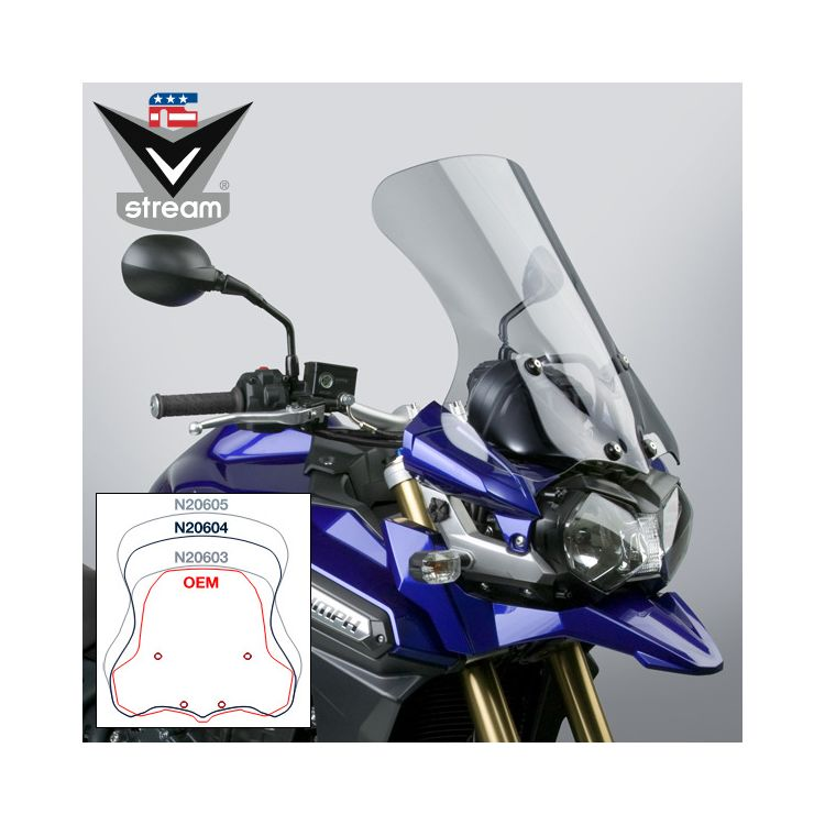National Cycle VStream Sport Touring Windscreen Triumph Tiger Explorer 2012-2015