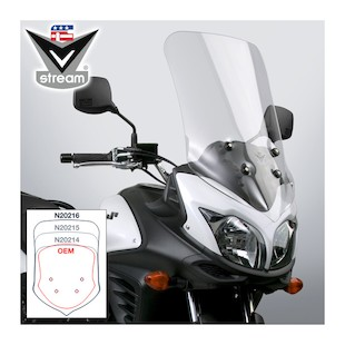 National Cycle VStream Tall Touring Windscreen Suzuki V-Strom 650 2012-2014