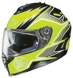 HJC IS-17 Intake Hi-Viz Helmet