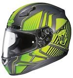 HJC CL-17 Redline Hi-Viz Helmet