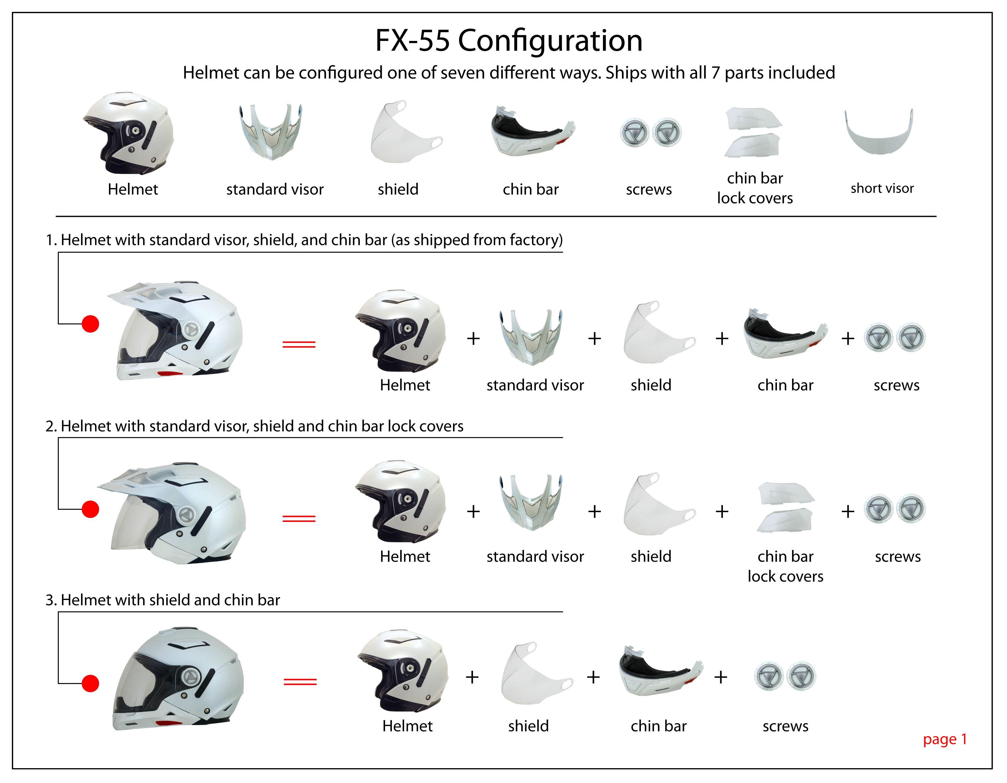 AFX FX-55 Helmet  9a5d8738bb77b