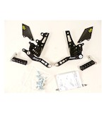 Lightech Track System Rearsets Triumph Speed Triple / R 2011-2014
