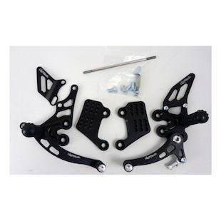 Lightech Rearsets Triumph Speed Triple 2005-2012