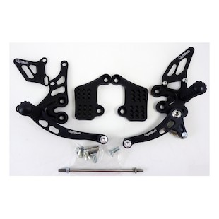 Lightech Rearsets Triumph Speed Triple 2000-2004