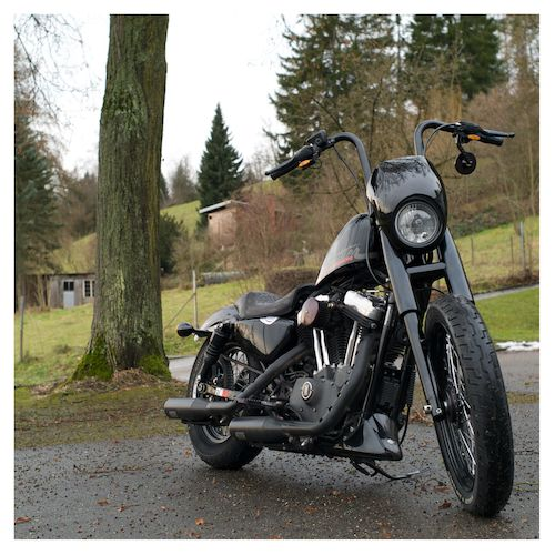 Lowbrow Customs Fork Shrouds For Harley Narrow Glide