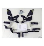 Lightech Track System Rearsets MV Agusta F3 675 2012-2013