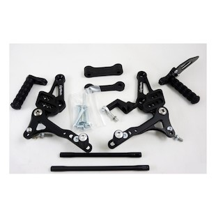 Lightech Track System Rearsets Ducati Streetfighter 848/1100/S