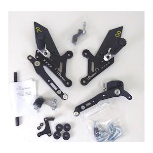 Lightech Track System Rearsets Honda CB1000R 2008-2015
