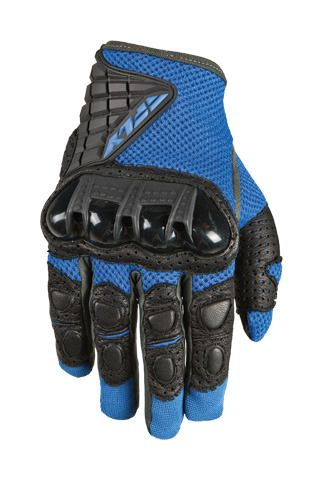 Fly Racing Coolpro Gloves Blue//Black