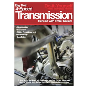 Lowbrow Customs BT 4-Speed Transmission Rebuild DVD