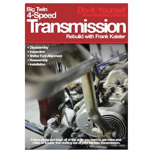 Lowbrow Customs BT 4-Speed Transmission Rebuild DVD