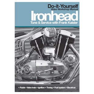 Lowbrow Customs Ironhead Tune And Service DVD