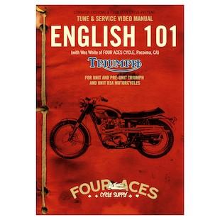 Lowbrow Customs English 101 DVD