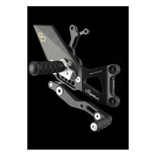 Lightech Track System Rearsets Honda CBR600RR 2007-2015