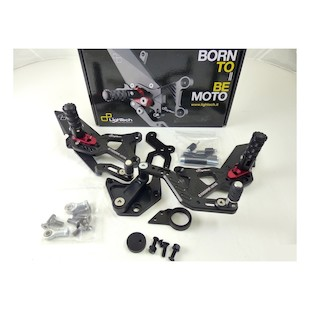 Lightech LE Track System Rearsets BMW S1000RR 2009-2013