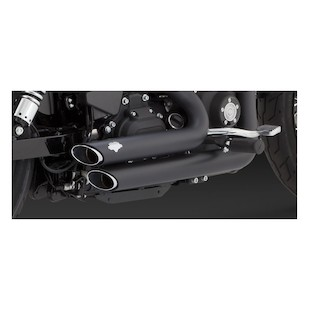 Vance & Hines Shortshots Staggered Exhaust For Harley Dyna 2012-2014