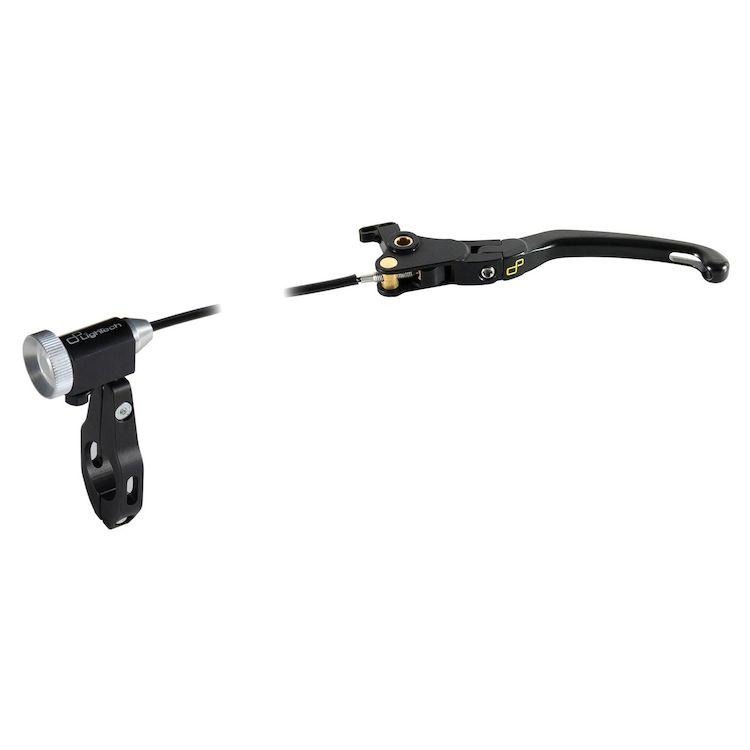 LighTech Magnesium Folding Brake Lever With Remote Adjuster Aprilia/Ducati/Triumph/Yamaha