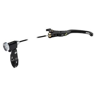 LighTech Magnesium Folding Brake Lever With Remote Adjuster Honda/Kawasaki/Suzuki/Triumph