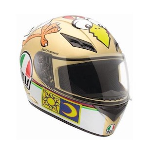 AGV K3 The Chicken Helmet