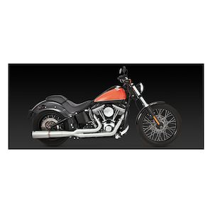 Vance & Hines Stainless Hi-Output 2-Into-1 Exhaust For Harley Softail 1986-2017