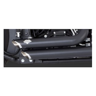Vance & Hines Shortshots Staggered Exhaust For Harley Softail 2012-2015
