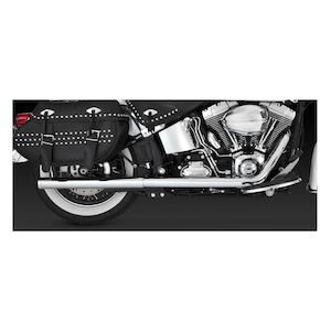 Vance & Hines Softail Duals Exhaust For Harley Softail 2012-2017