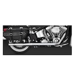 Vance & Hines Softail Duals Exhaust For Harley Softail 2012-2016