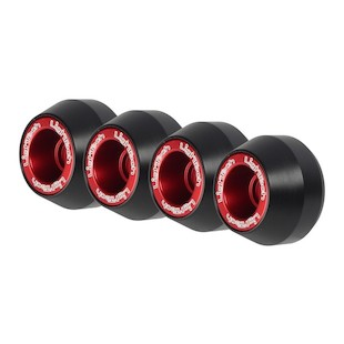 LighTech Axle Sliders Front & Rear Suzki GSXR 600/GSXR 750 2011-2014