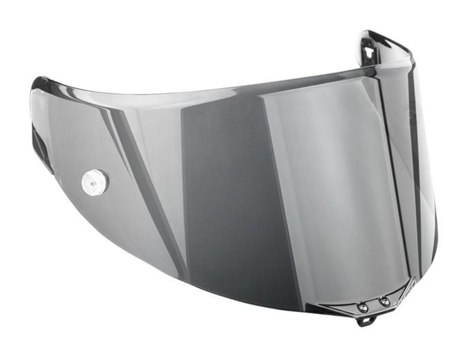 AGV Clear Race-2 Tear-Off Face Shield Scratch-Resistant and UV-B Protected for Corsa and Pista Helmets