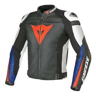 Dainese Super Speed C2 Leather Jacket (Size 58 Only)