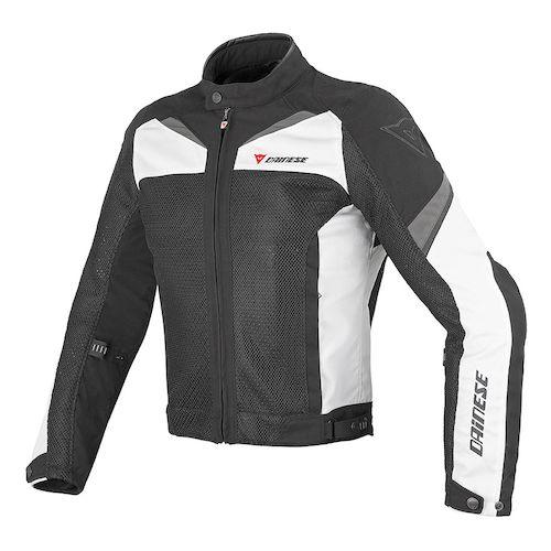 casaco Verão Dainese_air3_textile_jacket_black_white_dark_grey_zoom