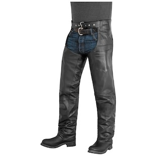 River Road Plains Leather Chaps
