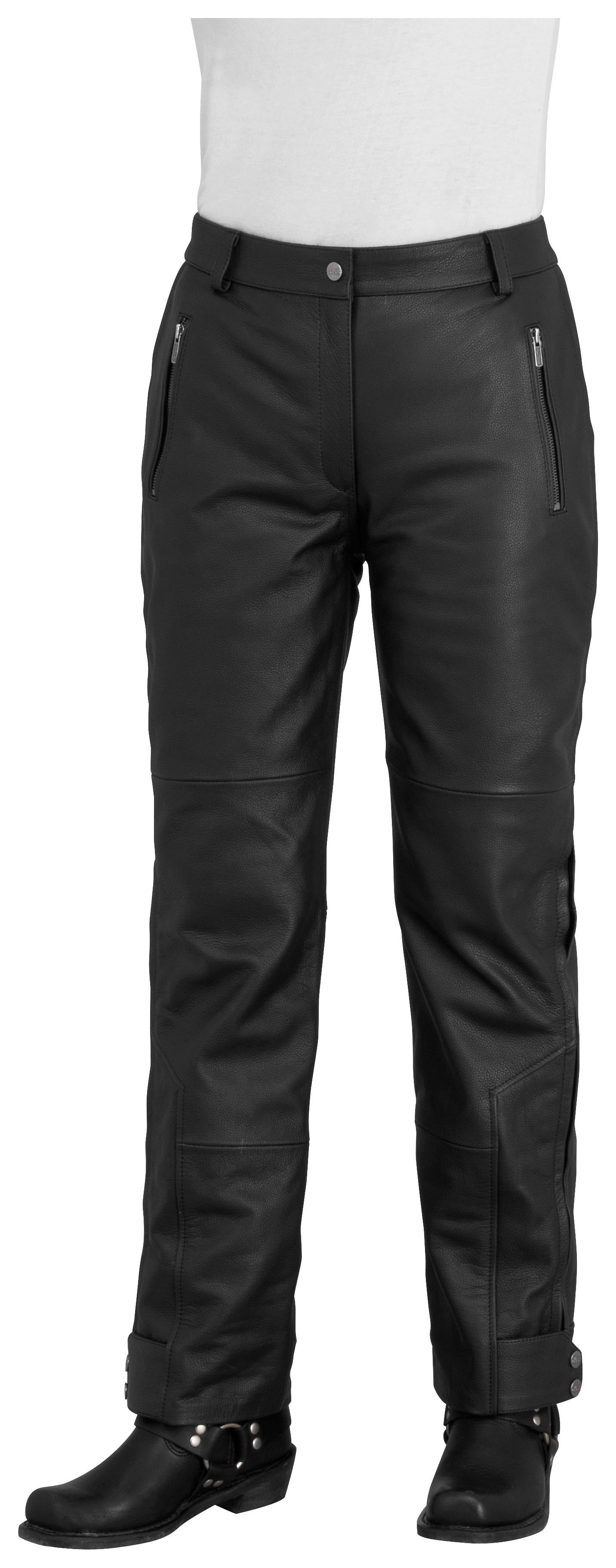 River Road Sierra Cool Women S Leather Pants Size 4 Only