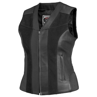 River Road Women's Santa Rosa Leather Vest