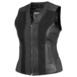 River Road Women's Santa Rosa Leather Vest