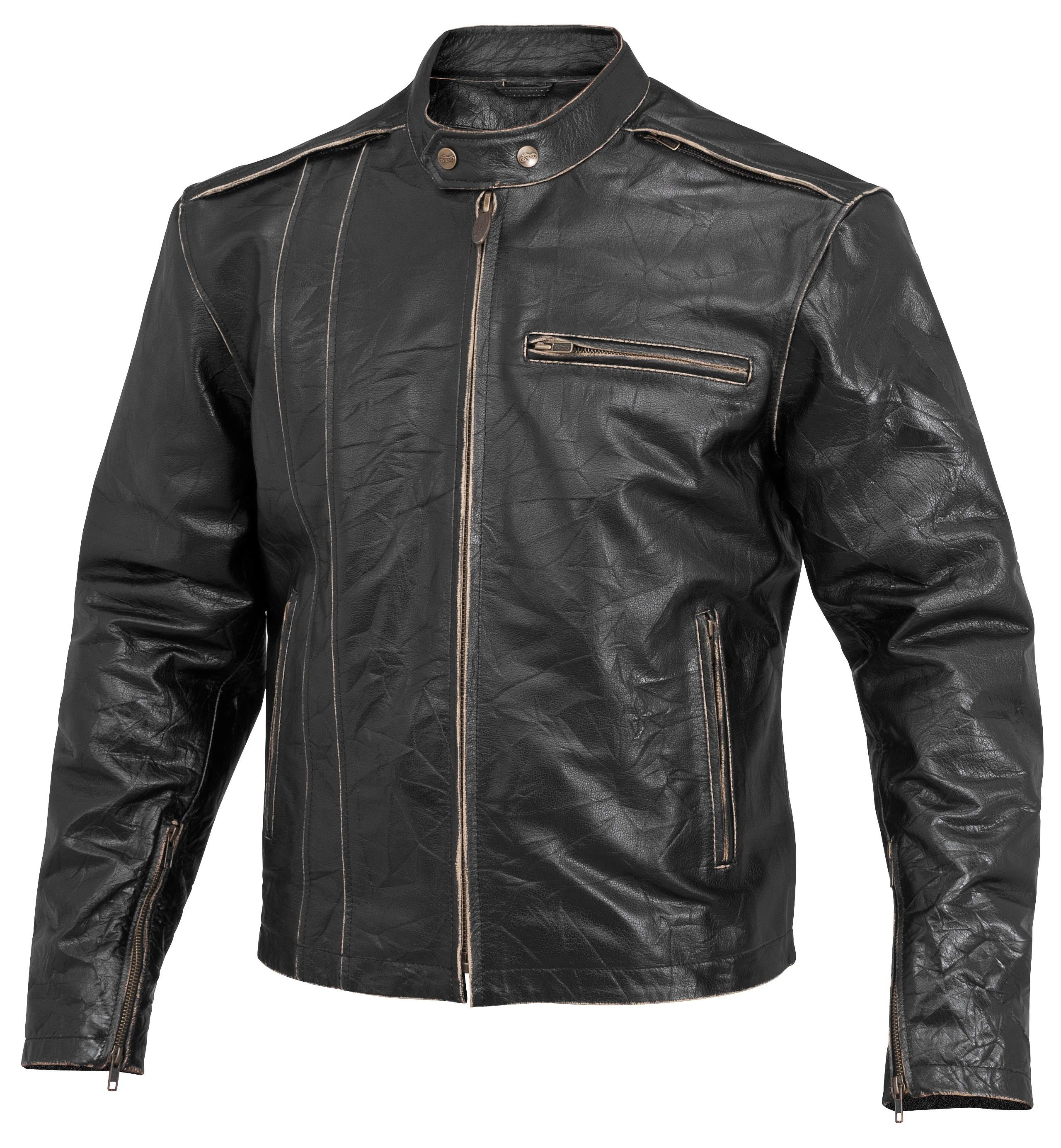 River road leather motorcycle jacket