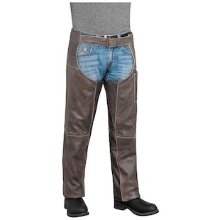 River Road Drifter Leather Chaps